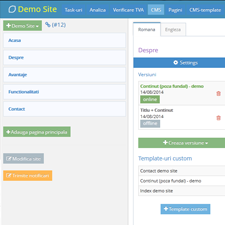 Intranet/Extranet - Poza monitor - Lemontask